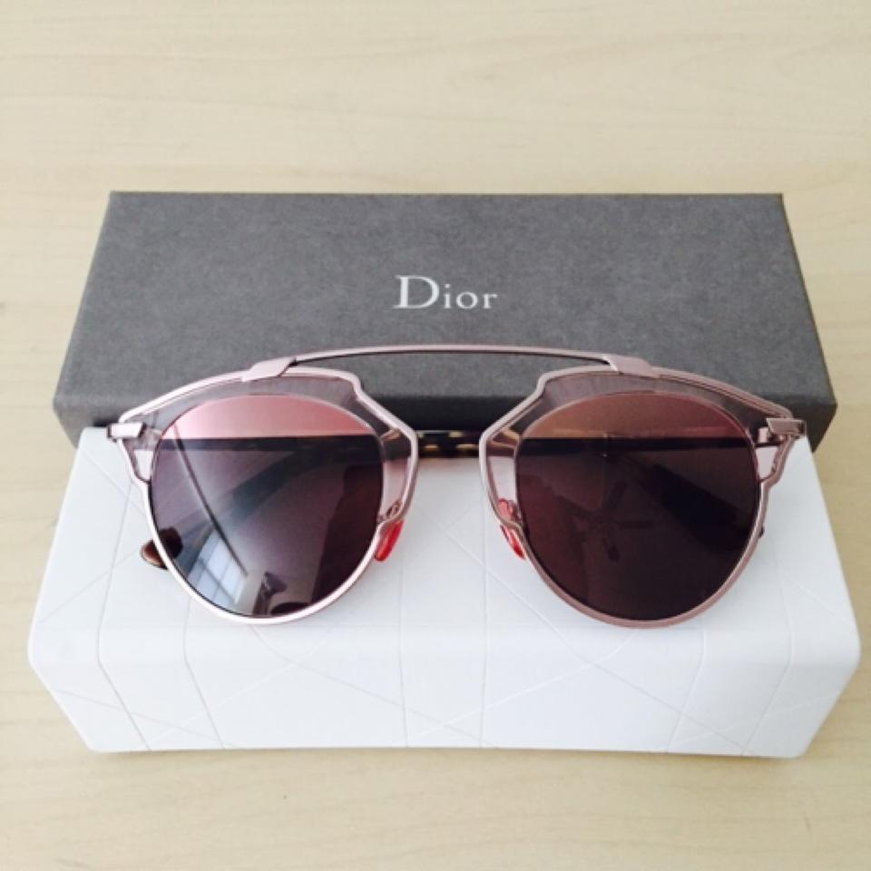 330e90213224 Dior Dior  So Real  48mm Mirrored Sunglasses Transparent Light Pink Rose  Gold Pink. 12345678
