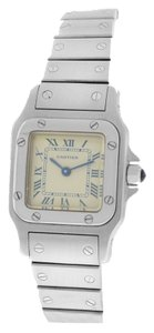 Cartier Cartier Santos 9057930 Stainless Steel Quartz Watch