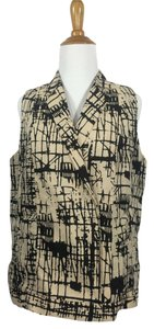 J Brand #grafitti #abstract #jbrand #vest Vest
