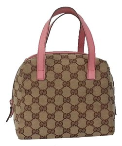 Gucci Satchel in brown and pink