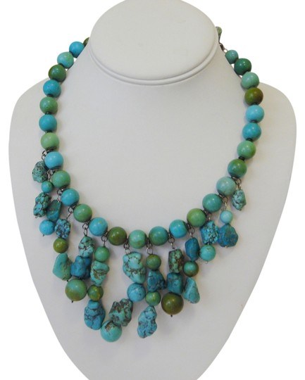 Preload https://item1.tradesy.com/images/925-sterling-silverturquoise-tribal-45-extender-necklace-5108515-0-0.jpg?width=440&height=440