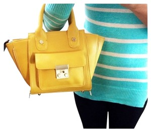 ASOS Mini Crossbody Satchel in Canary Yellow