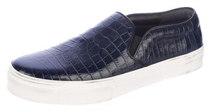 Céline Crocodile Slip On Sneakers Athletic