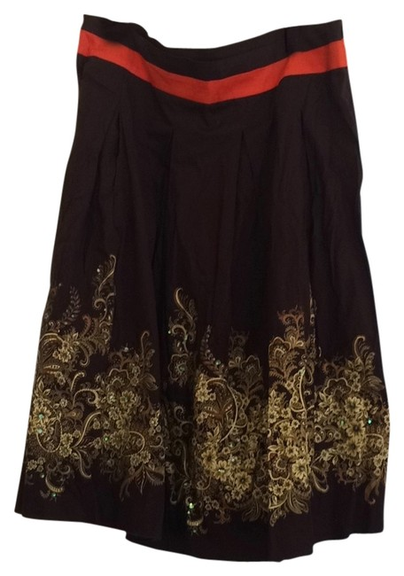 Just In Thyme Skirt Brown, gold