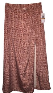Michael Kors Maxi Skirt Red/Beige
