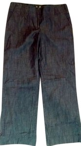 Calvin Klein Dark Size 10 P1564 Trouser Pants dark denim