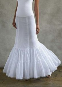 White Fit and Flare Slip