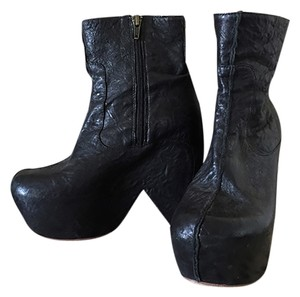 Jeffrey Campbell Funky Platform Bootie Sale Charcoal Gray Boots