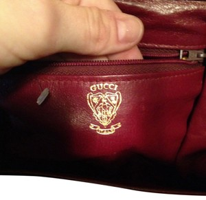 Gucci Leather Red Cross Body Bag