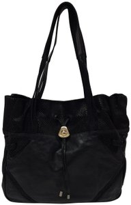 See by Chloé Leather Embossed Tote Shoulder Bag