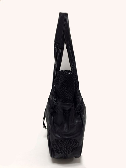 See by Chloé Leather Embossed Tote Shoulder Bag Image 1