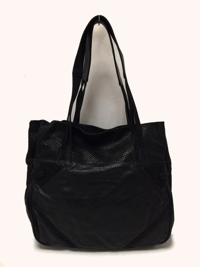 See by Chloé Leather Embossed Tote Shoulder Bag Image 10