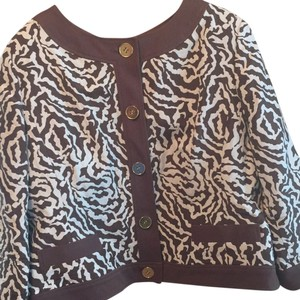 Doncaster Brown & ivory Jacket