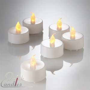 Quick Candles Amber 144 Votive/Candle