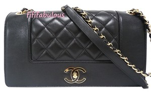 Chanel Leather Flap Classic Shoulder Bag