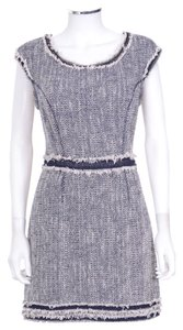 Rebecca Taylor short dress Tweed Navy M Above Knee on Tradesy