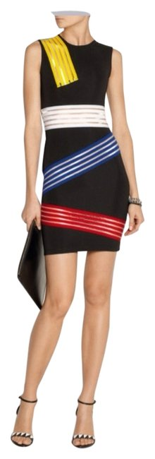 Preload https://img-static.tradesy.com/item/5110678/christopher-kane-black-elastic-paneled-stretch-jersey-mini-cocktail-dress-size-4-s-0-0-650-650.jpg