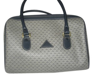 Liz Claiborne Monogram Satchel in grey