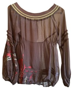 Lucy & Co. Top Taupe