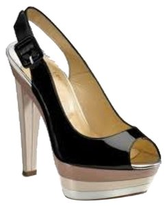 Christian Louboutin Black Platforms