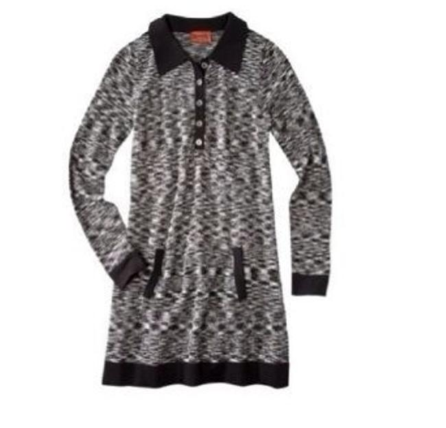 Missoni for Target short dress Black And Gray Space Dye on Tradesy
