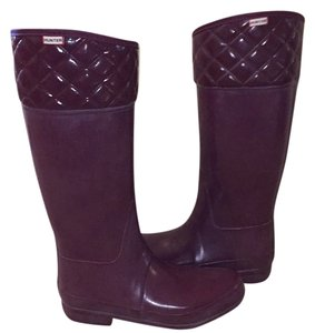 Hunter Plum Boots