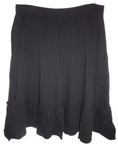 Mossimo Supply Co. Stretchy A-line Flowy Skirt Black