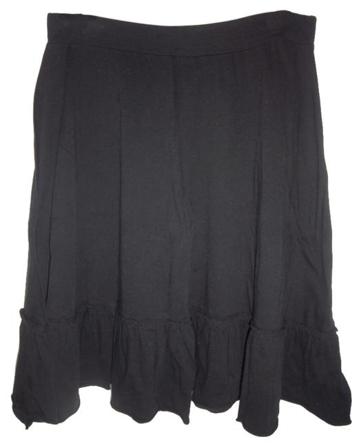 Mossimo Supply Co. Stretchy A-line Flowy Formal Casual Skirt Black