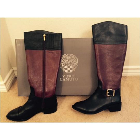Vince Camuto Black Venice leather Boots