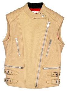 Cline Biker Moto Leather Vest