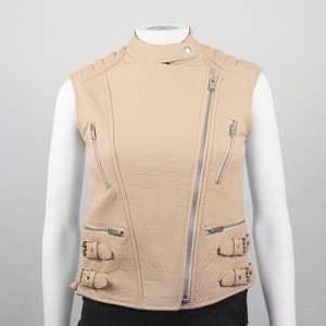 Céline Biker Moto Leather Vest