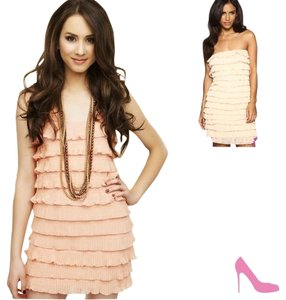 Express short dress Light Pink on Tradesy