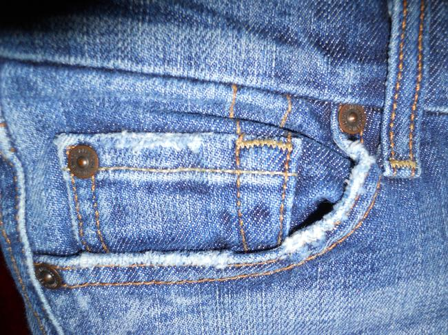 7 For All Mankind Boot Cut Jeans-Distressed Image 11