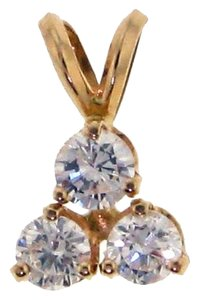 STEAL - WHOLESALE .80 CT TW & 14k Diamond pendant Gorgeous