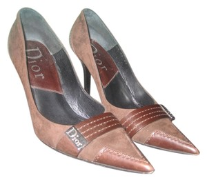Dior Suede Leather brown Pumps