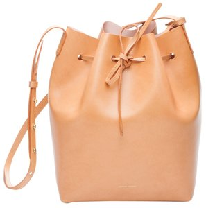 Mansur Gavriel Bucket Must Have Rosa Leather Italy Luxury Cross Body Bag