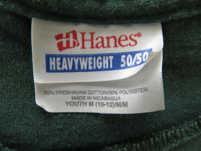 Other Vintage Unique Hanes One Of A Kind T Shirt Forest green