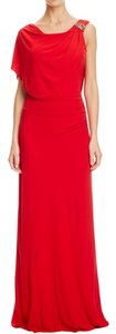 Badgley Mischka Jeweled Evening Gown Dress