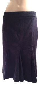 United Colors of Benetton Corduroy Black Skirt Dark Black