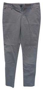 Old Navy Skinny Slacks Skinny Pants Grey