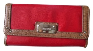 Nine West Red leather