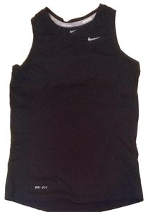 Nike Girls Medium Black Racerback