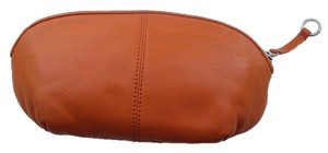 Ann Taylor Orange Leather