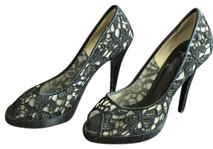 Joey O Lace Black Pumps