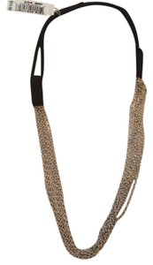 Cära Couture Jewelry Cara NY Silver Metal Chain Headband