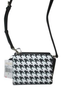 Michael Kors Black / White Messenger Bag
