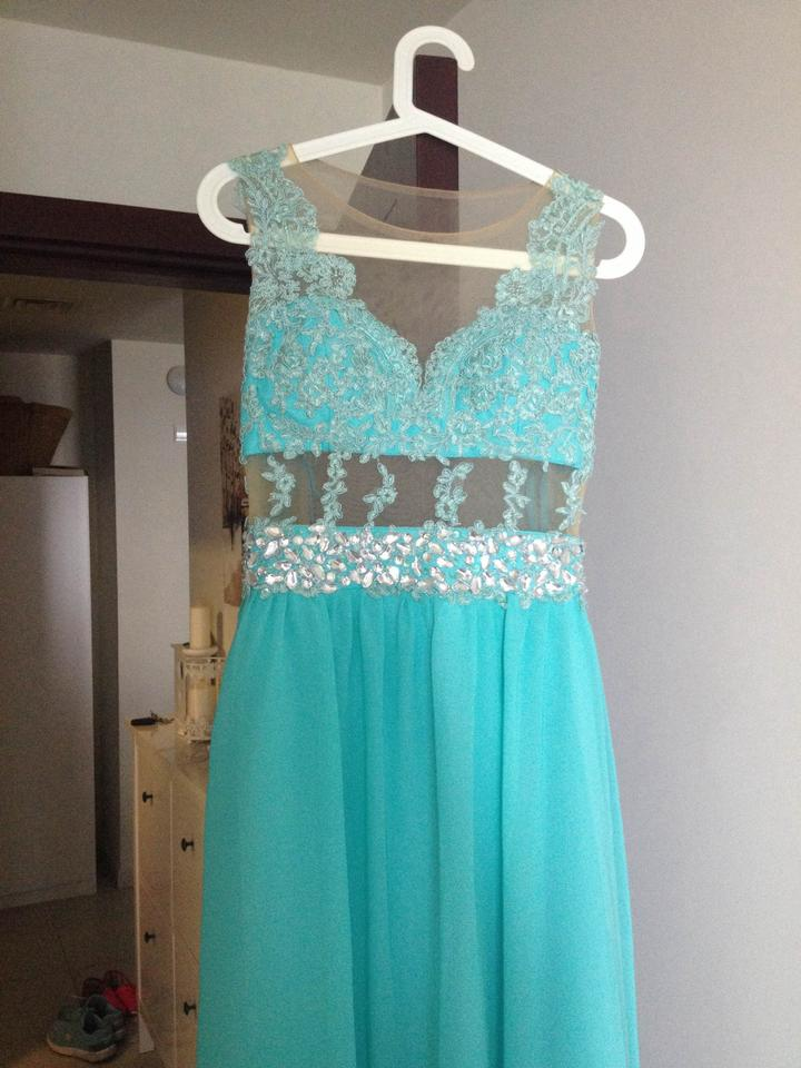 Turquoise gorgeous turquoise bridesmaid dresses dress for Turquoise and white wedding dresses