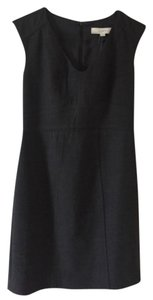 Ann Taylor LOFT short dress Charcoal/gray on Tradesy