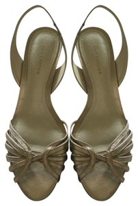 Ann Taylor Silver-gold Sandals