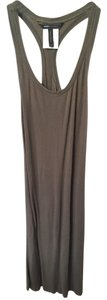 BCBGMAXAZRIA short dress Olive Stretchy Razorback on Tradesy
